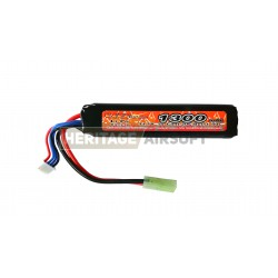 BATTERIE Lipo 11,1 1300Mah 20c (19.5*25*105mm)