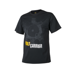 T-shirt Bolt Carrier Coton Noir - Helikon
