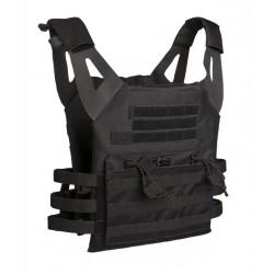 JPC Noir - Porte-plaques avec poche kangourou - GFC