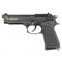 M9 culasse métal GBB pistolet d'airsoft noir - KJW