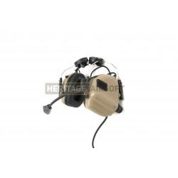 Casque de communication M32H pour casque fast Dark Earth - Earmor