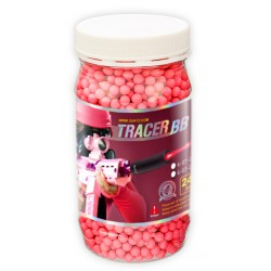 BILLES 0,25G BB 2400R RED billes traçantes (Traceur BB)