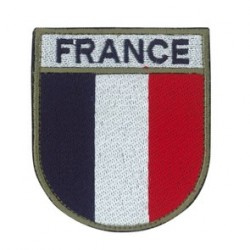 FRANCE Patch Velcro