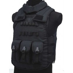 Airsoft Police Swat tactical Vest black
