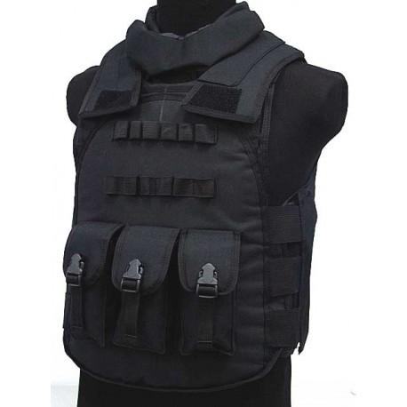 Gilet pare-éclats type police noir