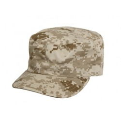 Cap BDU type Digital Tan