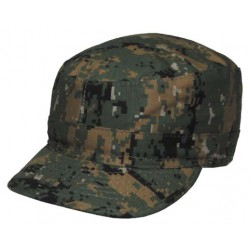 Casquette type BDU MARPAT Digital Woodland