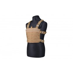 Mini chest rig molle tan
