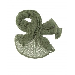 Net Scarf Olive