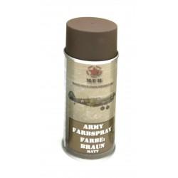 Bombe peinture mate pour réplique 400ml - marron