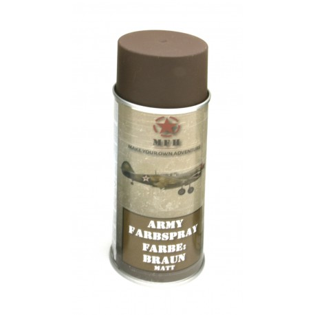 Paint Matt Spray for replica 400ml brown