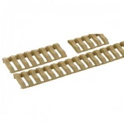 Cache-rails Picatiny - Type escalier à clipser, jeu de 3 - Foliage