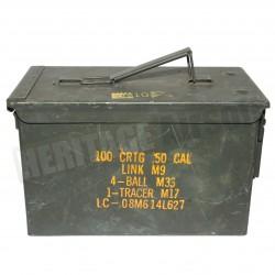 Caisse de munition métal 5.56 - petit format