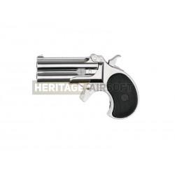 Derringer pistolet chromé GAZ 0,6j