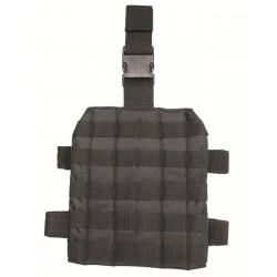 MIL-TEC - Plateforme de cuisse MOLLE noir