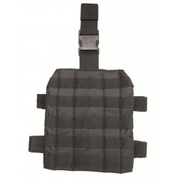 MOLLE Leg Thigh Black