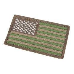 US Patch with scratch Multicam