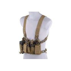 Fast chest rig tan GCF