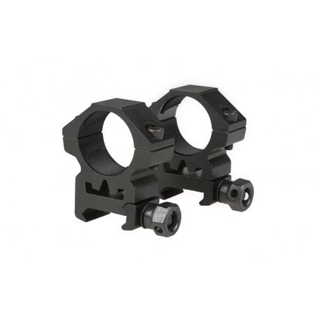 Anneau de montage 25 mm position basse Theta Optics