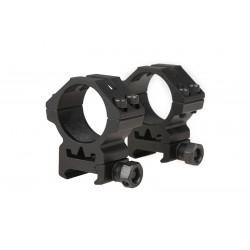 Anneau de montage 30 mm position basse Theta Optics