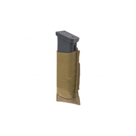 Poche porte-chargeur de pistolet en elasthane - Fast mag PA elasthane - Tan