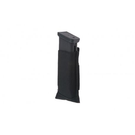 Poche porte-chargeur de pistolet en elasthane - Fast mag PA MOLLE noir