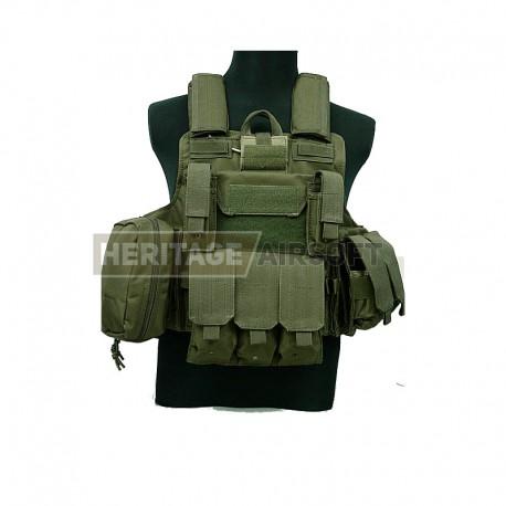 MFH peinture army NVA Vert mat 1 L