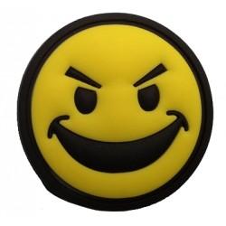 Ecusson PVC avec scratch Smile