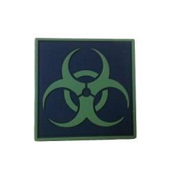 Ecusson PVC avec scratch Biohazard
