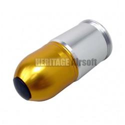 Grenade 40 mm avec bouchons