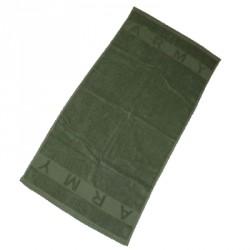 Serviette éponge Army olive 100 x 50 cm