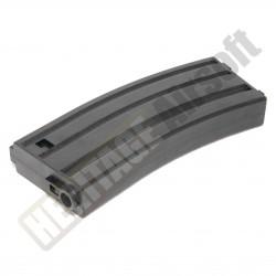 [MID-CAP] Chargeur M4 M16 plastique - 140 billes - Noir