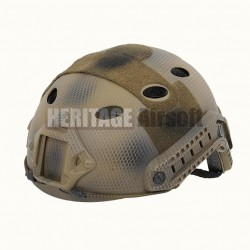 Casque Airsoft : type FAST - Motifs filet