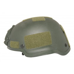 MICH 2002 Helmet with NVG mount Olive replica