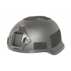 MICH 2002 Helmet with NVG mount Black replica