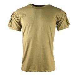 Tactical T-shirt - Coyote - Kombat UK