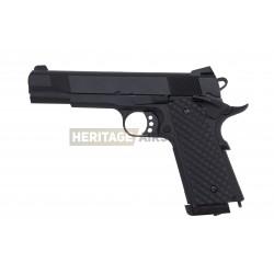 Réplique de pistolet airsoft MEU 1911 - Noir - Métal - CO2 - SANYAN