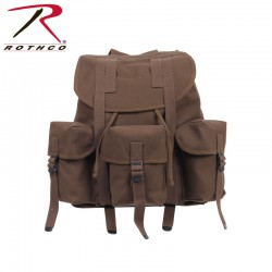 Rothco G.I. Type Heavyweight Mini Alice Pack - BRUN TERRE