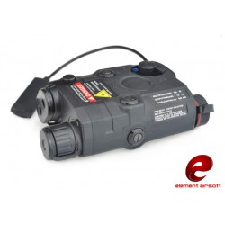 Laser AN / PEQ-15 Noir Laser rouge lampe Element