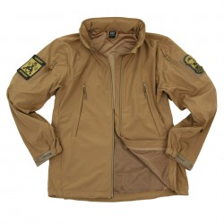 Soft shell - Jack Tactical - Coyote - 101 INC