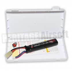 Batterie LiPo mini long 7,4V 1300 mAh 25C