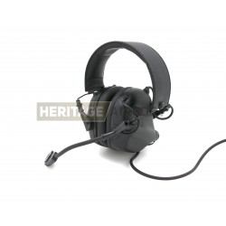 Casque de communication M32 Noir - Earmor
