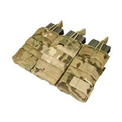 Triple open MOLLE M4 M16 Magazine Pouch Multicam