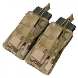 Double open kangaroo M4 M 16 Molle Magazine Pouch Multicam