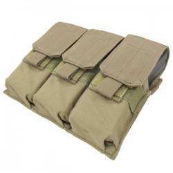 Poche porte-chargeurs - MOLLE - M4 M16 - Triple - Tan - Condor