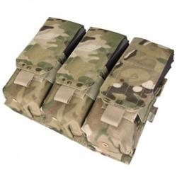 Porte-chargeurs - MOLLE - M4 M16 AK - Triple - Multicam - Condor