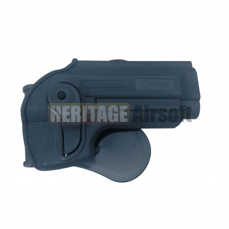 Holster rigide M9 + support ceinturon - Noir - CYTAC