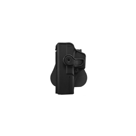 Polymer Retention Roto Holster for GLOCK 17/18/22/31 LEFT HANDED with belt  support black
