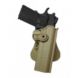 Polymer Holster for COLT 1911 with belt support, Tan