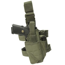 Holster Tornado de cuisse adaptable olive